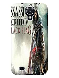 Amazing pattern tpu skin case cover with texture for Samsung Galaxy s4 of Assassin's Creed in Fashion E-Mall