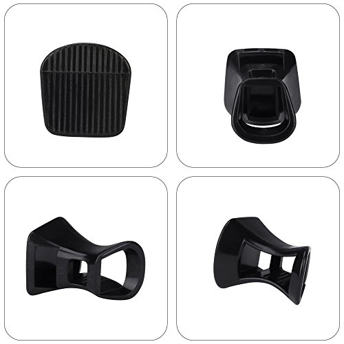 Formali Matrimoni 6 Uraqt black Heel S Stoppers Per Tacco Gare Occasioni Tacchi Protectors Pairs Proteggi qqwO8n1pv