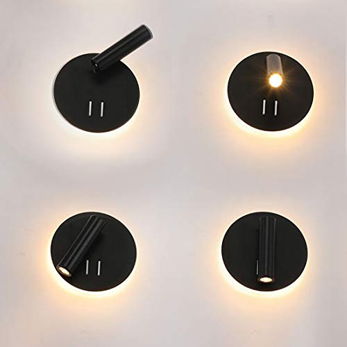 Amazon.com: BRILLRAYDO - Foco orientable de pared LED de 10 ...