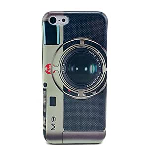 ZXSPACE Leica M9 Vintage Camera Hard Case Cover for iPhone 5C
