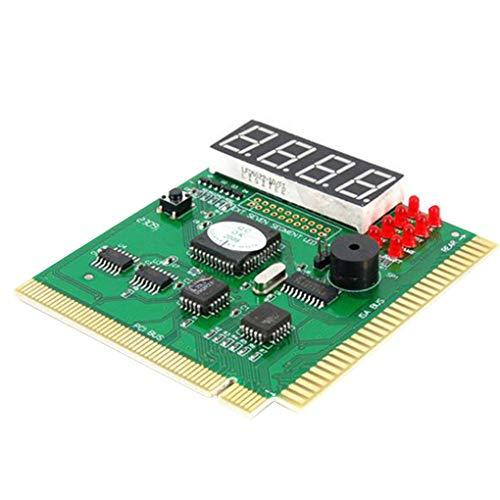 Jiasijieke Motherboard Tester Diagnostics Display 4-Digit PC Computer Mother Board Debug Post Card Analyzer