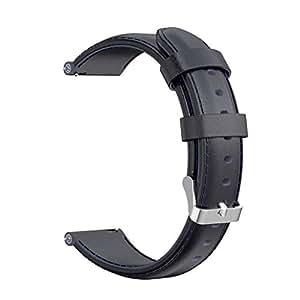 Webla Correa de reloj para AMAZFIT GTR Smart Watch 47MM en cuero ...