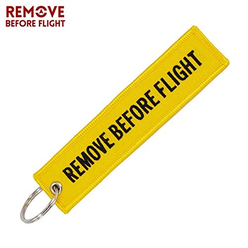 Amazon.com: Key Rings Remove Before Flight Car Key Chain ...