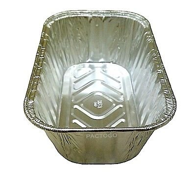Handi-Foil 1 lb. Aluminum Foil Mini-Loaf/Bread Pan - Disposable Tins (pack of 600)