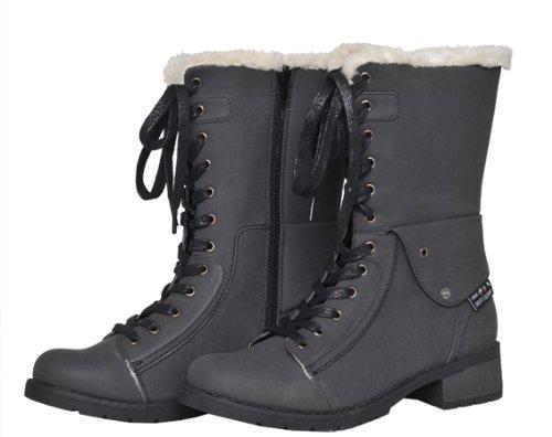 HKM invierno termo botas - polo norte- negro Talla:Schuhgrösse 37 - negro