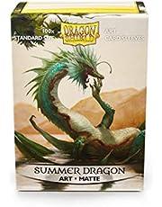 Dragon Shield Matte Art Sleeves Set of 100 Sleeves - Summer Dragon, Multicolor