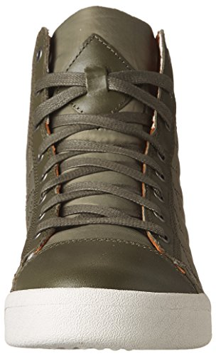 Diesel Hombres Tempus Diamond High-top Sneakers Size Us 9 M Tarmac
