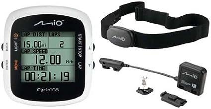 Mio Cyclo - GPS para Ciclismo, Blanco: Amazon.es: Deportes y aire ...