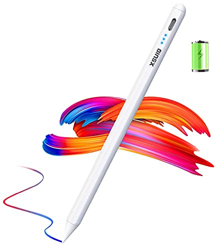 Stylus Pen for Apple iPad, with Power Display, Palm Rejection, Magnetic and Tilt Design ipad Pencil, Active Pens Compatible with Apple Pencil 2 Generation (2018-2020)