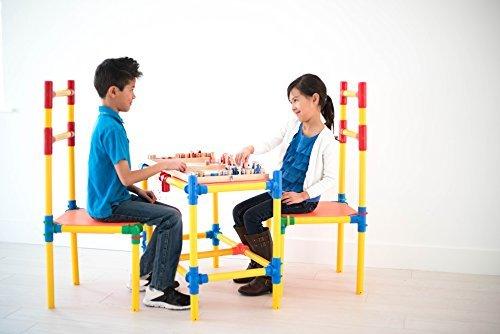 Quadro Designs Clip - Tubelox 220 Piece Building Set for Children