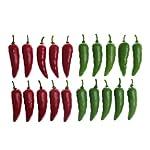 CoscosX-10-Pcs-Mini-Artificial-Chili-Lifelike-Pepper-Decorative-Vegetable-Ornaments-Accessories-for-Home-Dollhouse-Fairy-Garden-Party-Fake-Simulation-Chili