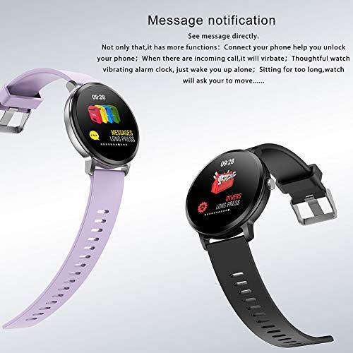 TLfyajJ Smartwatch Impermeable Reloj Fitness v11 Blood Pressure ...