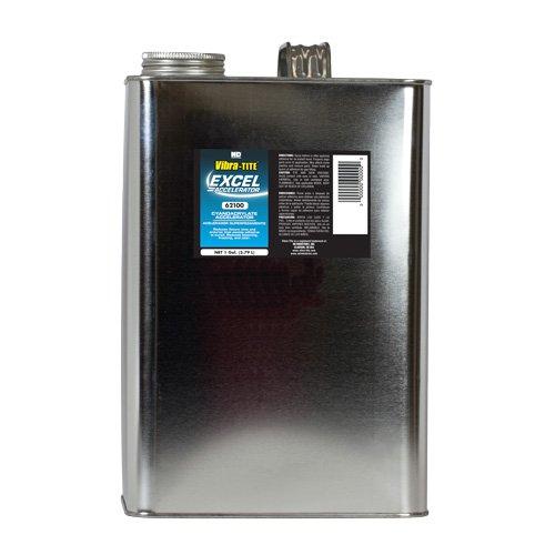 Vibra-TITE 621 Excel Accelerator, 1 gallon Can, Clear by Vibra-TITE