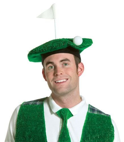 (Rasta Imposta Adult Lightweight Hole-In-One Golf Beret Costume (One Size,)