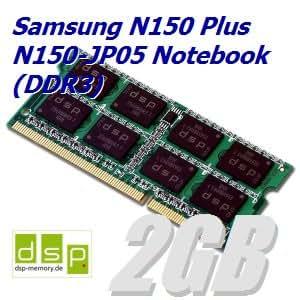 DSP - Memoria RAM para Samsung N150 Plus N150-JP05 (2 GB, DDR3)