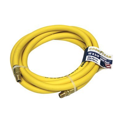 Goodyear Rubber Air Hose - 3/8in. x 10ft.