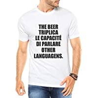 Camiseta Criativa Urbana The Beer Triplica Cerveja - Masculina