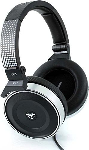 Folding Pro Dj Headphones - AKG Pro Audio K167 DJ Closed-Back Professional DJ Over-Ear Headphone
