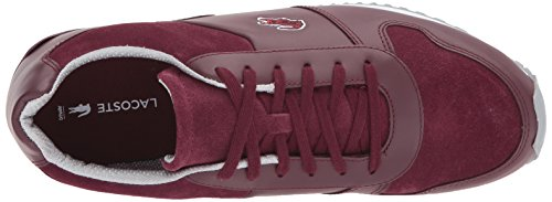 low price fee shipping discount find great Lacoste Men's Trajet 417 3 Sneaker Burgundy buy cheap marketable OMCSMNXK