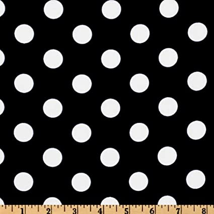 Amazon.com: 54'' Wide Polka Dot Poly Cotton Fabric By The Yard ...