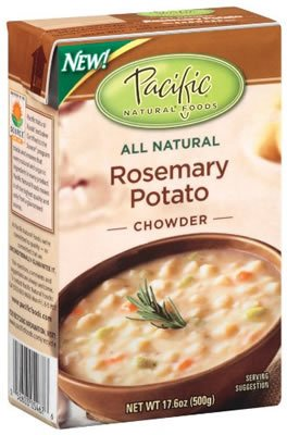 PACIFIC FOODS SOUP RTE RSEMARY PTO CHWDR, 17 OZ