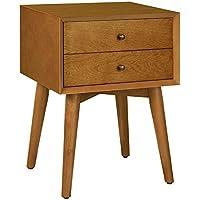 Crosley Furniture CF9401-AC Landon Night Stand, Acorn