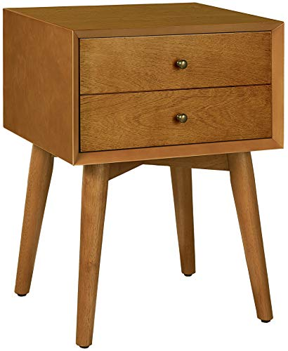 Crosley Furniture CF9401-AC Landon Night Stand, Acorn