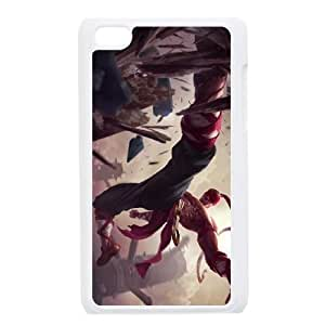 iPod Touch 4 Case White League of Legends LeeSin Zupcl