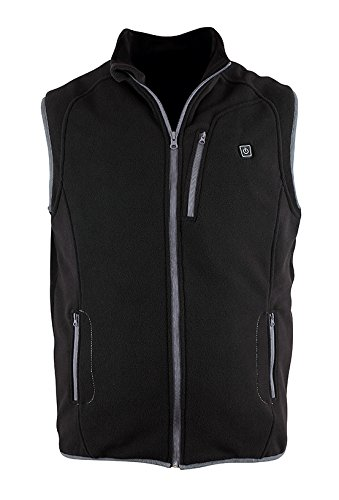 Prosmart Heated Vest Polar Fleece Lightweight Waistcoat with USB Battery Pack(XL) by PROSmart (Image #7)