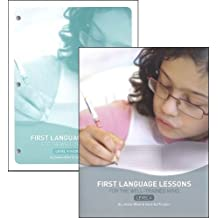 First language Lessons level 4 Set--Teacher's Guide and Workbook (First Language Lessons for the Well-Trained Mind)