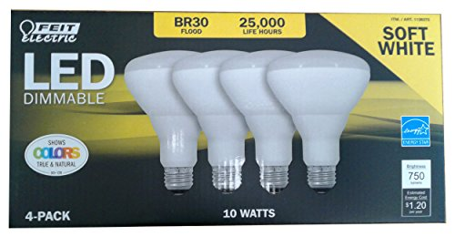 feit electric 65 watt led br30 - 6