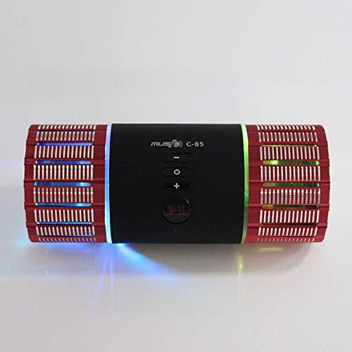 Bluetooth Speaker Tf Card - Speaker Tf Card - C-85B Portable Hifi Stereo Audio Wireless Bluetooth 3.0 Card Speaker Subwoofer MP3 Boombox Sou - Red (Portable Speaker Tf Card)