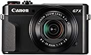 Canon PowerShot Digital Camera [G7 X Mark II] with Wi-Fi & NFC, LCD Screen, and 1-Inch Sensor - Black, 100