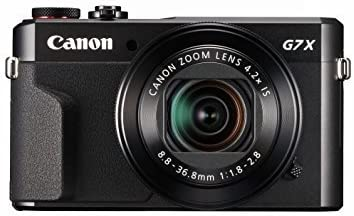 Amazon Com Canon Powershot Digital Camera G7 X Mark Ii With Wi Fi Nfc Lcd Screen And 1 Inch Sensor Black 100 1066c001 Camera Photo