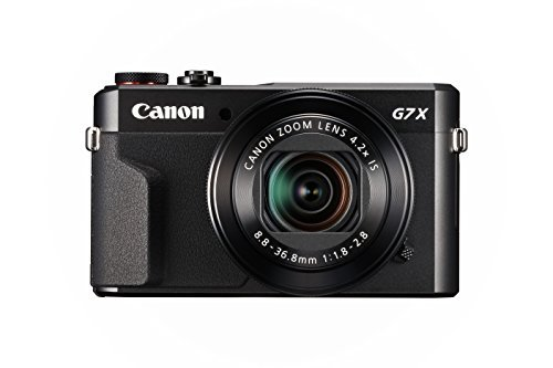Canon Power Shot G7X Mark II Digital 20.1-Megapixel (Black), Camera with 16GB Card + Case Cover