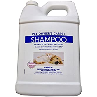 1 Gallon Genuine Kirby Shampoo (Pet Owners ). Use with all model Kirby Vacuum Cleaner Shampooer Systems.