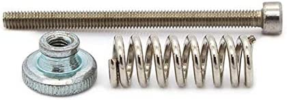 CHENBIN-BB 春平準化ノブ用の3Dプリンタと電源M3 * 40のステンレス鋼製ねじレベリングコンポーネントの監視