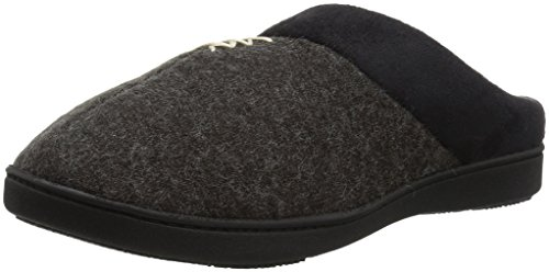 ISOTONER Womens Marisol Slip On Cushioned Slipper with All Around Memory Foam for Indoor/Outdoor Comfort