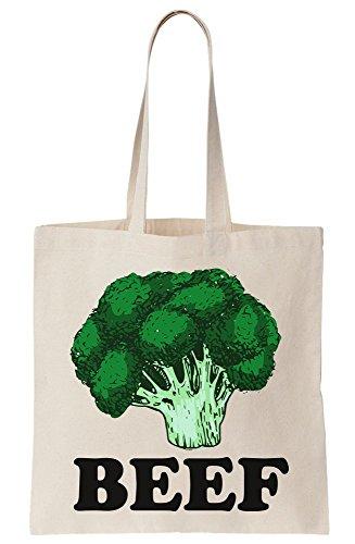 Broccoli Canvas Beef Bag Tote Artwork wwqRZ0A