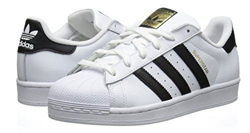 Amazon.com | adidas Originals Women's Superstar W Fashion Sneaker,  White/Black/White, 10.5 M US | Fashion Sneakers