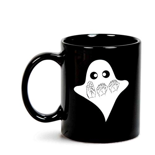 BOO ASL Sign Language Funny Ghost Halloween