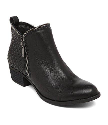 Embossed Leather Heels - 1
