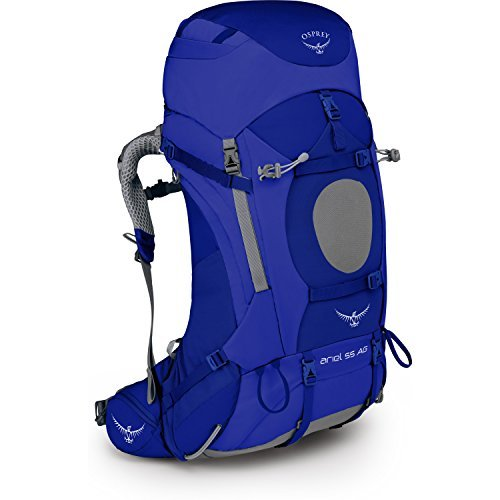 Osprey Ariel 55 Womens Hiking Backpack Small Tidal Blue [並行輸入品] B07DVNRGDH