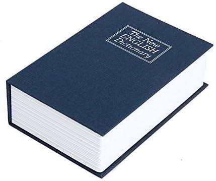 uchic 1pcs libro Hucha creativo Inglés Diccionario caja de dinero caja de almacenaje cerradura con llave caja fuerte gran idea de regalo: Amazon.es: Hogar