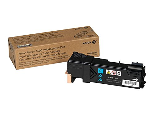 XEROX 106R01594 Cyan High Capacity Toner Cartridge FOR Phaser 6500/WC 6505