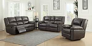 Amazon.com: Container Furniture Direct S6033-3PC Oregon ...