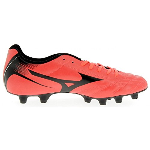 Monarcida Neo Moulded FG Football Boots - Fiery Coral/Black - Size 9