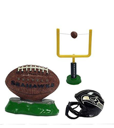 NFL Seattle Seahawks Aquarium Ornaments Set of Three