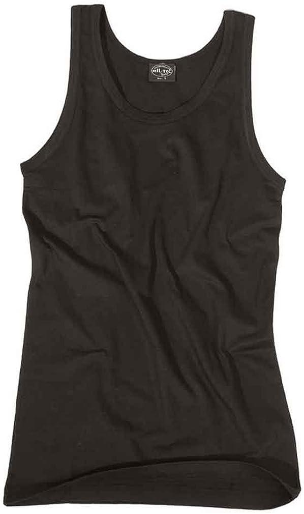 Mil-Tec Camiseta De Tirantes, negro - algodón, Negro, 100% algodón, hombre, XXL: Amazon.es: Ropa y accesorios