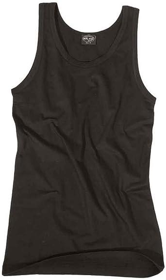 Camiseta sin mangas negra: Amazon.es: Ropa y accesorios